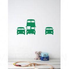 Dieses Rush Hour Wandtattoo von Ferm Living ist der absolut Hit in ihrem Kinderzimmer. Mit all diesen Autos an der Wand steht das Zimmer mitten im Verkehrschaos! Echt klasse für coole Jungs! In zwei Ausführungen erhältlich.     - Geeignet für glatte, ebene Flächen  - für Wände, Decken, Möbel und Fenster  - einfach an zu bringen und ohne Rückstände wieder zu entfernen