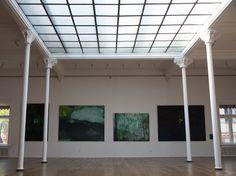 Wystawa w Pałacu Poznańskich, Łódź Cztery duże obrazy plus jeden mały :)