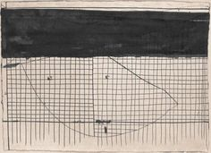 Ergo Pers | Artists' Books | Hanns Schimansky, portfolio | Hanns Schimansky, No Title, 2007, Folding, Indian ink, graphite and gouache on paper, 52.4 x 68.3 cm., Private Collection