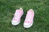 Monogram Converse-Pink Monogram Converse, Chuck Taylor Sneakers, What I Wore, My Girl, Me Too Shoes, Pairs, Crystals, My Style, How To Wear