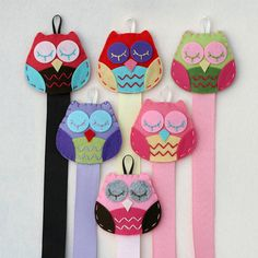 Owl Clip Holder Set - Gift set includes One Owl Snap Clip . Great for Gift Giving