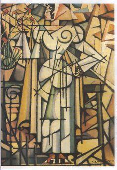 Amadeo De Souza Cardoso, girl of carnations on ArtStack Modernisme, Art Google, Traditional Art, Picasso, Online Art, Collage Art, Sculpture Art, Photo Art, Modern Art