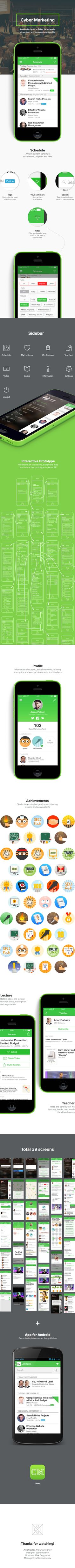 CyberMarketing App