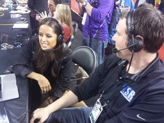 Matt was joined during our special Final Four preview broadcast by his crush, ESPN's Kaylee Hartung