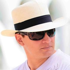 Colonial Panama Hat for Men (Grade 3-4) - Natural