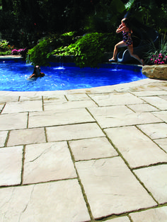 Enjoy your yard poolside on Nicolock Paving Stones!