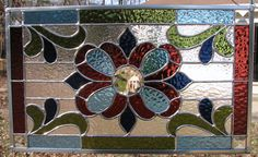 Victorian Style Beveled Stained Glass Panel by davisglassdesigns, $150.00