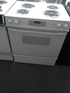 Appliance City Kenmore 30 Inch Free Standing Electric