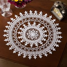 Affinity Doily in Aunt Lydia's Extra Fine Crochet Thread Size 30 - LC4082 | Knitting Patterns | LoveKnitting
