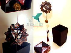 Lina Origami: Móbile Electra (oncinha)