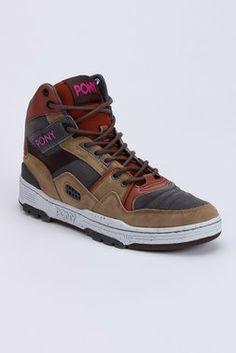 M100 HI Suede - Pony - Footwear : JackThreads