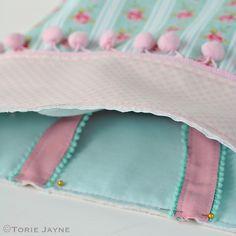 Pretty tote sewing tutorial 20