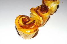 Rosaces feuilletées au chorizo et à la tomate : http://virginiemoreau.canalblog.com/archives/2018/06/10/35981899.html