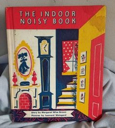 The Indoor Noisy Book 1942  Margaret Wise Brown by ParagonAlley on Etsy