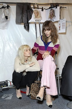 Abbey Lee and Freja Beha. Two of my fave model...