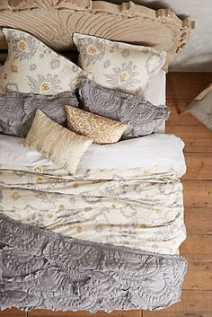 Bedroom Furniture & Bedding #anthrofave