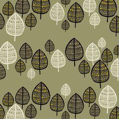 Rachel Cave -Trees - Gallery Poster