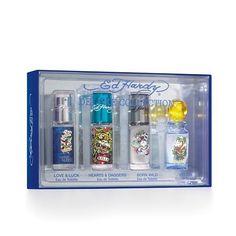 Ed Hardy Deluxe Fragrance Gift Set by Ed Hardy. $30.25. Ed Hardy Variety Gift Set Ed Hardy Variety By Christian Audigier For Men