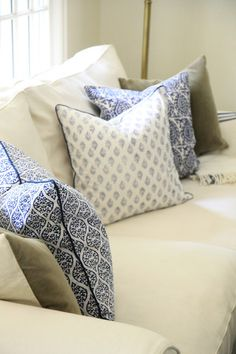 Block Print Pillow Cover Collection