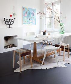 Kurk, linoleum of marmoleum? Linoleum Flooring, Kitchen Flooring, Rubber Flooring, White Flooring, Ceramic Flooring, Modern Flooring, Terrazzo Flooring, Flooring Ideas, Deco Design