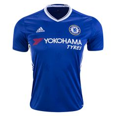 Chelsea 16/17 Home Soccer Jersey   $89.99   Holiday Gift & Stocking Stuffer ideas for the Chelsea FC fan at WorldSoccerShop.com