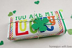 Sharing the Love ~ Lucky Gum Wrappers