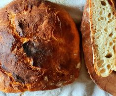 Domáci chlebík pečený v pekáči Bread, Recipes, Food, Brot, Essen, Baking, Meals, Breads, Eten