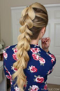 fancy braids pull through braided hairstyle hair ideas fancy hairstyles