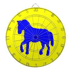 Blue horse yellow (eliso) http://www.zazzle.com/blue_horse_yellow_eliso-256139045341858456?lang=es
