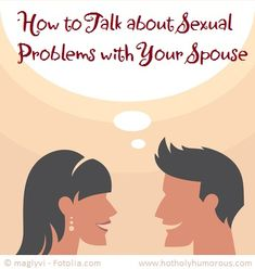 how to talk about sex with your spouse