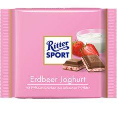 RITTER SPORT Erdbeer Joghurt Schokolade