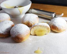 Berliner mit Lemoncurd