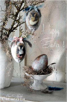 From Biljana Vasovic Spring Projects, Spring Crafts, Easter Egg Crafts, Easter Eggs, Easter Wallpaper, Easter Parade, Egg Art, Easter Holidays, Egg Decorating