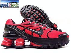 20a3169a3c3350 Nike Shox Turbo VI ID Red Black Size Women s 6 5