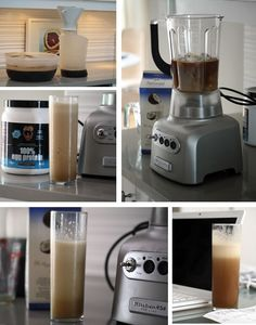 Paleo Frappuccino / Iced Coffee / Protein Shake