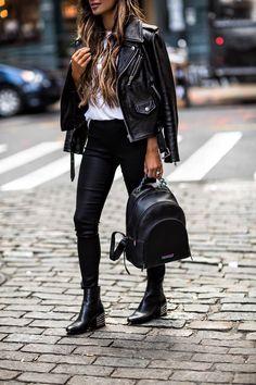 Edgy street style