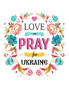 My t-shirt print. Слава УкраЇні. Please pray for Ukraine, and thank you to all (and God) who are helping my ancestors' country in a time of great need.