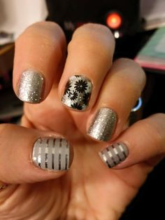 One thing that I LOVE about Jamberry nail wraps is that, unlike glitter polish,  our glitter wraps are smooth, and they are just as easy to remove as all of our other wraps. Check them out at http://www.dmunoz.jamberrynails.net/.