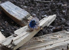 Check out this item in my Etsy shop https://www.etsy.com/listing/276083690/sapphire-ringgold-ringstatement