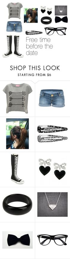 Free Time! :D by queen-blaze-of-arendelle on Polyvore featuring Paul's Boutique, FixDesign, Converse, STELLA McCARTNEY, Talullah Tu, Monki and River Island
