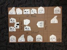 Teach mapping skills and sort spelling words at the same time.