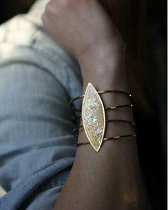 Opal Wire Cuff