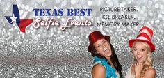 Texas Best Selfie Events: Texas Best Selfie Photo Booth Rental