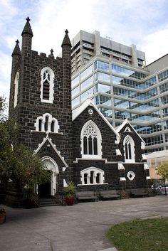 St Augustine's Catholic Church, Bourke Street, Melbourne Australia