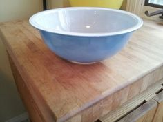 """dusty"" blue 325 mixing bowl"