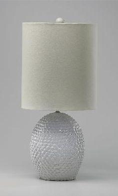 Pineapple Ceramic Lamp #delmarfans and #dreamlighting