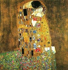 Gustav Klimt, my favorite artist.  So lucky to have seen his work at the museum in Vienna!