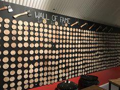 Wall of fame! 67!!! @whistlepunks #gow #modernman #lumberjack #love #lovely #london #londongent #whistlepunks #axe #axethrowing #urbanaxethrowinglondon #passmemyaxe #listenboy #67 #highscore #walloffame #axegraveyard #woodcut #birthdaysurprise #birthdayday #birthdaydayout #twohandedaxethrow