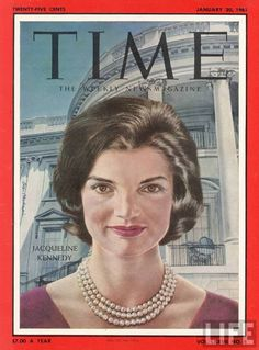 Jackie, Time magazine cover, 1961