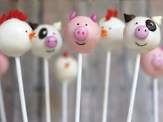 farm cakepops.                                                       … …